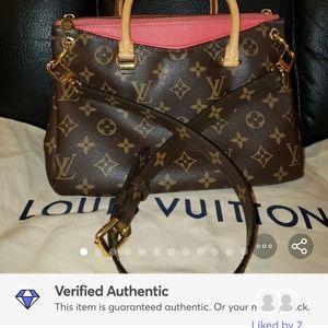 Authentic Louis Vuitton Pallas BB
